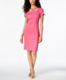 Caladium Cutout Sheath Dress at Macys