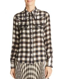 Caleb Gingham Western Shirt at Bloomingdales