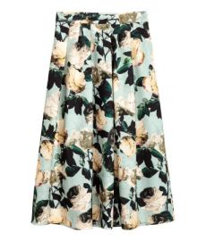 Calf Length Skirt at H&M