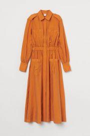 Calf-length Shirt Dress at H&M