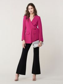 Cali tie front jacket at DvF