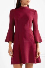 Califa crepe turtleneck mini dress at Net A Porter