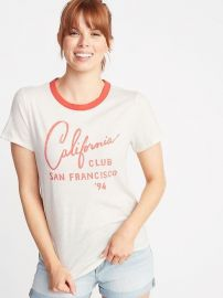 California Club SanFrancisco Ringer Tee by Old Navy at Old Navy
