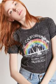 California Palm Beach Graphic Tee at Forever 21