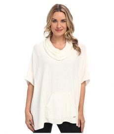 Calvin Klein Cowl Poncho w/ Pocket at Amazon