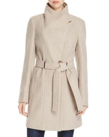 Calvin Klein Toggle Wrap Coat at Bloomingdales