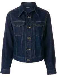 Calvin Klein 205W39nyc Classic Denim Jacket - Farfetch at Farfetch