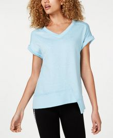 Calvin Klein Asymmetrical T-Shirt   Reviews - Tops - Women - Macy s at Macys