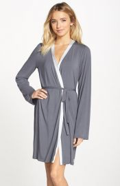 Calvin Klein Essentials Short Robe at Nordstrom