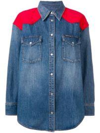 Calvin Klein Jeans Western Denim Shirt - Farfetch at Farfetch