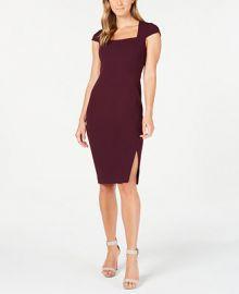 Calvin Klein Petite Cap-Sleeve Sheath Dress   Reviews - Dresses - Petites - Macy s at Macys