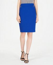 Calvin Klein Petite Zip-Pocket Pencil Skirt    Reviews - Wear to Work - Petites - Macy s at Macys