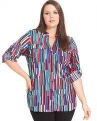 Calvin Klein Plus Size Shirt at Macys