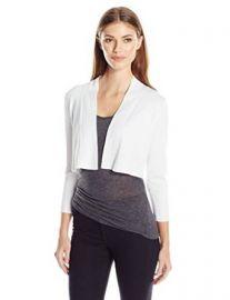 Calvin Klein Womenand39s Knit Shrug at Amazon
