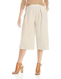 Calvin Klein Womenand39s Pleated Culotte at Amazon