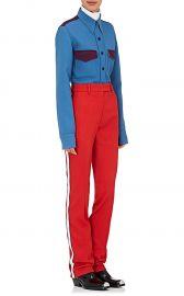 Calvin Klein Wool Twill Tuxedo Trousers at Barneys