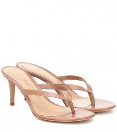 Calypso 70 leather sandals at Mytheresa
