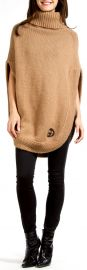 Camel Poncho by Gucci at Gucci