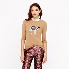 Camel Sweater at J. Crew