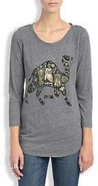 Camel Tee at Lucky Brand