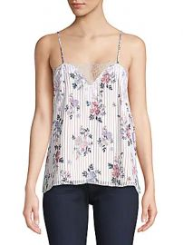 Cami NYC - The Sweetheart Silk Georgette Floral Cami at Saks Off 5th