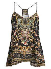 Camilla - La Fleur Libertine Floral Silk Camisole at Saks Fifth Avenue