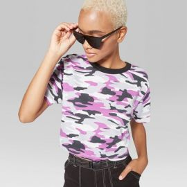Camo Ringer t-shirt by Target at Target