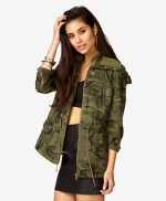 Camo jacket at Forever 21 at Forever 21