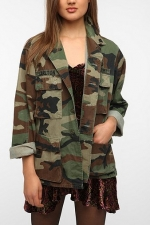 Camo jacket at Urban Outfitters at Urban Outfitters