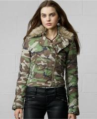 Camo jacket by Ralph Lauren at Macys
