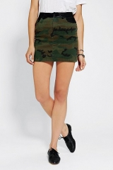 Camo skirt by BDG at Urban Outfitters