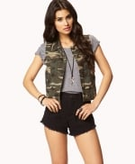Camo vest at Forever 21 at Forever 21