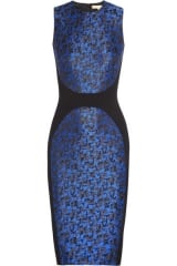 Camouflage jacquard dress by Michael Kors at Net A Porter