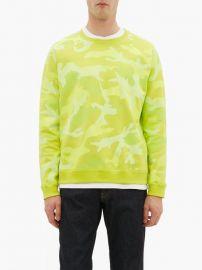Camouflage-print cotton-blend sweatshirt at Matches