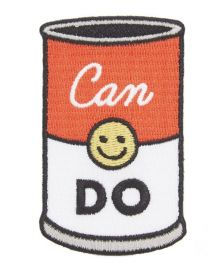 Can Do Iron-On Patch by Seltzer at Liberty London