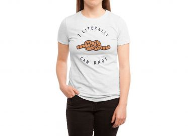 Can Knot Tee by Haasbroek at Threadless at Threadless