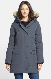 Canada Goose  Trillium  Regular Fit Down Parka with Genuine Coyote Fur Trim at Nordstrom