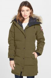 Canada Goose Shelburne Genuine Coyote Fur Trim Down Parka at Nordstrom
