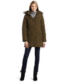Canada Goose Womens Trillium Parka at Amazon