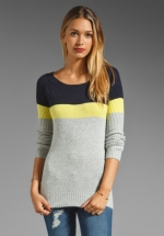Canarise Colorblocked Sweater by Central Park West at Revolve