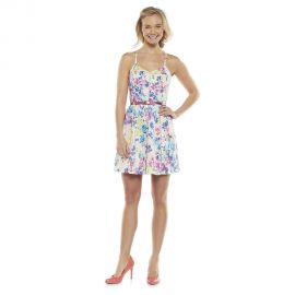Candies Paneled Racerback Dress at Kohls