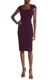 Cap Sleeve Sheath Dress by Calvin Klein at Nordstrom Rack