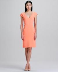 Cap sleeve dress in Nectar by Rachel Roy at Neiman Marcus