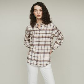 Capali Plaid Shirt by Maje at Maje