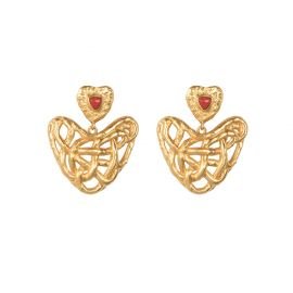 Captive Love Earrings by Valere at Valere