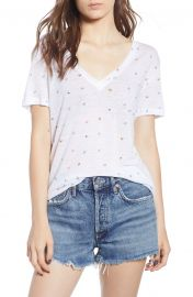 Cara Butterfly Print Tee by Rails at Nordstrom
