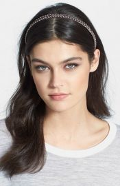 Cara and39Glam Chainand39 Headband at Nordstrom