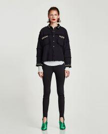 Cardigan with Jewel Applique\'s by Zara at Zara