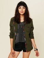 Cargo jacket on The Vampire Diaries at Free People
