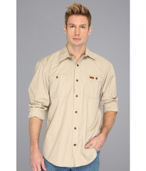 Carhartt Trade LS Shirt - Tall Field Khaki at Zappos